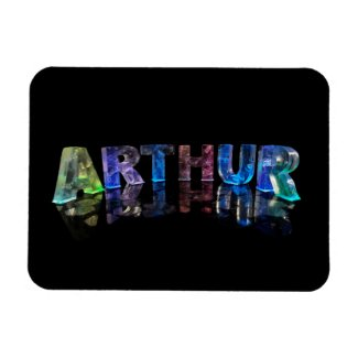 The Name Arthur in Lights Magnet