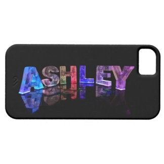 The Name Ashley in 3D Lights Case For The iPhone 5