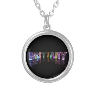 The Name Brittany in 3D Lights Jewelry
