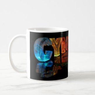 The Name Cynthia in 3D Lights Mug