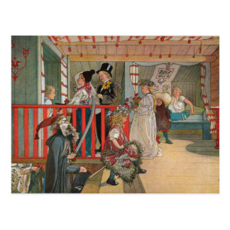 The Name Day by Carl Larsson Art Print Post Cards