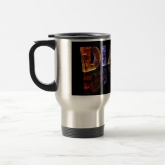 The Name Diane in 3D Lights (Photograph) Coffee Mugs