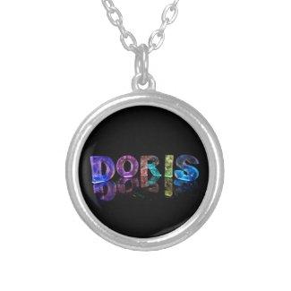 The Name Doris in 3D Lights (Photograph) Custom Jewelry