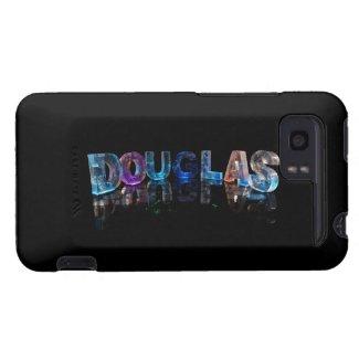 The Name Douglas in 3D Lights (Photograph) HTC Vivid / Raider 4G Case