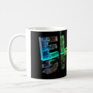 The Name Ella in 3D Lights (Photograph) Coffee Mug