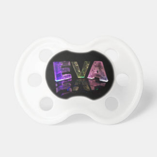 The Name Eva in 3D Lights (Photograph) Dummy