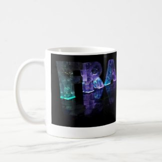 The Name Frances in 3D Lights (Photograph) Coffee Mug