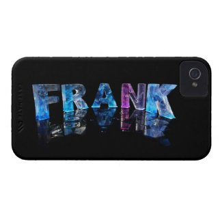 The Name Frank in 3D Lights (Photograph) iPhone 4 Cases