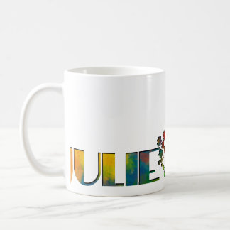 The Name Game - Julie Basic White Mug
