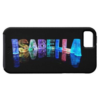 The Name Isabella in 3D Lights (Photograph) Case For The iPhone 5