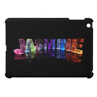 The Name Jasmine in 3D Lights (Photograph) Case For The iPad Mini