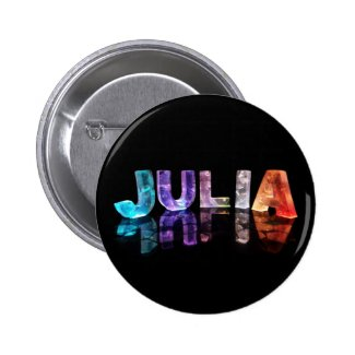 The Name Julia in 3D Lights (Photograph) Button