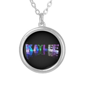 The Name Kaylee in 3D Lights (Photograph) Jewelry