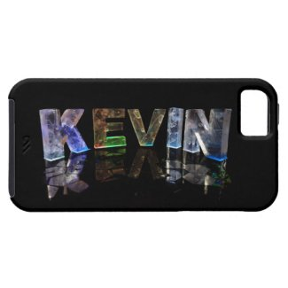 The Name Kevin in 3D Lights (Photograph) iPhone 5 Case
