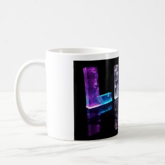 The Name Lily in 3D Lights (Photograph) Mugs