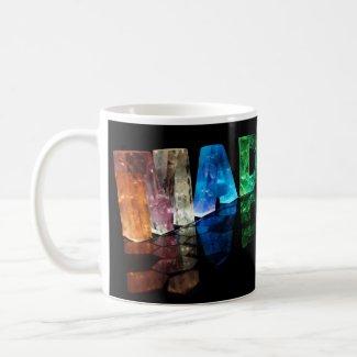 The Name Madison in 3D Lights (Photograph) Coffee Mug
