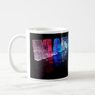 The Name Margaret in 3D Lights (Photograph) Coffee Mug