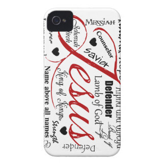The Name of Jesus Case-Mate iPhone 4 Cases