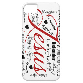 The Name of Jesus iPhone 5 Cover