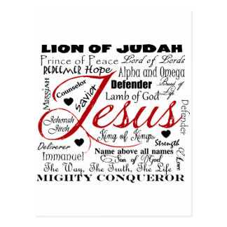 The Name of Jesus Postcards