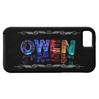The Name Owen -  Name in Lights (Photograph) Case For The iPhone 5