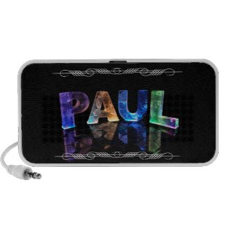 The Name Paul - Name in Lights (Photograph) Speaker System