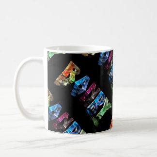The Name Randy in 3D Lights (Photograph) Coffee Mug