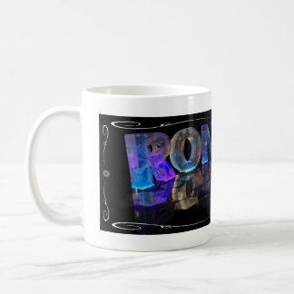 The Name Ronald in 3D Lights (Photograph) Coffee Mug