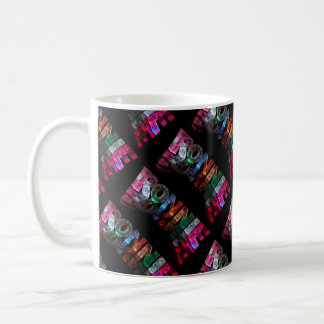 The Name Ronnie in 3D Lights (Photograph) Coffee Mug