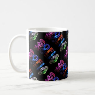 The Name Sofia -  Name in Lights (Photograph) Coffee Mug
