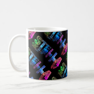 The Name Stella -  Name in Lights (Photograph) Coffee Mug