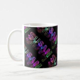 The Name Susan - Name in Lights (Photograph) Coffee Mug