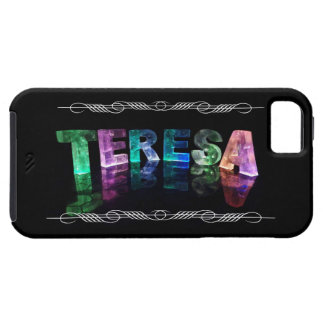 The Name Teresa -  Name in Lights (Photograph) iPhone 5 Covers