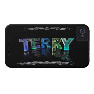 The Name Terry -  Name in Lights (Photograph) iPhone 4 Case-Mate Case