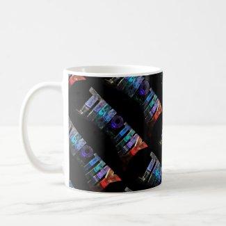 The Name Timothy - Name in Lights (Photograph) Mug
