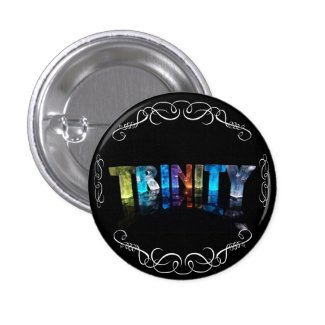 The Name Trinity - Name in Lights (Photograph) Button