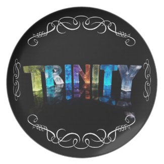 The Name Trinity - Name in Lights (Photograph) Plate