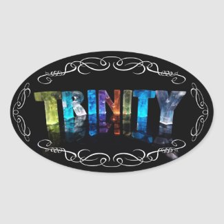 The Name Trinity - Name in Lights (Photograph) Sticker