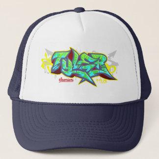 The name Tyler in graffiti-Trucker Hat