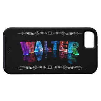 The Name Walter - Name Lights (Photograph) iPhone 5 Cover