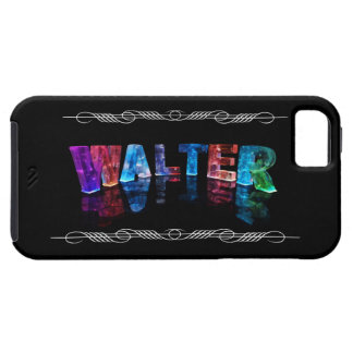 The Name Walter -  Name Lights (Photograph) iPhone 5 Case