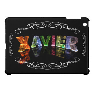The Name Xavier -  Name in Lights (Photograph) iPad Mini Case