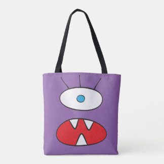 The Nameless Beast - All-Over-Print Tote Purple