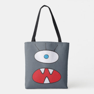 The Nameless Beast - All-Over-Print Tote Slate