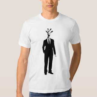 The Name's Giraffe, Mr Giraffe - Guys T-shirt