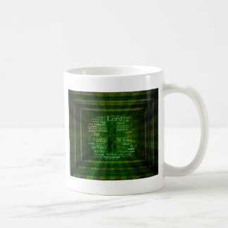THE NAMES OF GOD listed Coffee Mug
