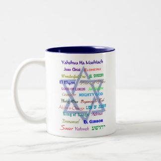 The Names of Yahweh/Yahshua/God Mug