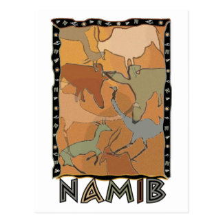The Namib Postcard