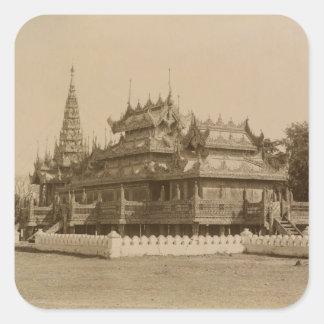 The Nan-U Human-Se, Shwe-Kyaung Square Sticker