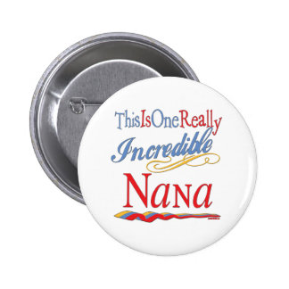 The Nana Collection 6 Cm Round Badge